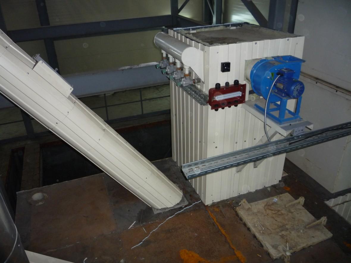 Варкастроительногогипса в гипсоварочном котле ТОС165