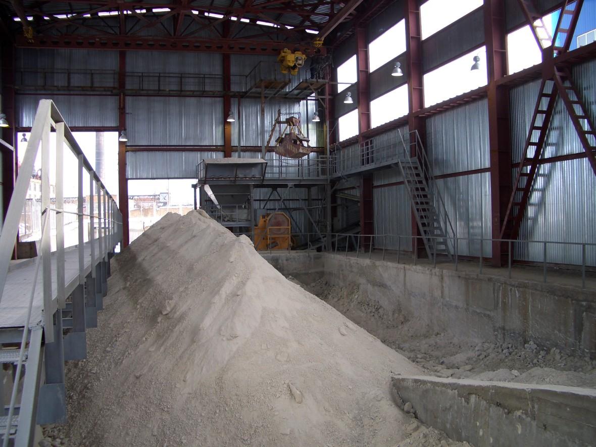 Производство строительного гипса